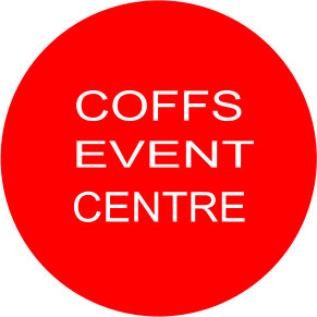 Brand logo: Coffs Event Centre, Coffs Harbour & Coffs Coast
